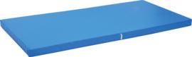 Anti slip matras Afm. 183 x 90 x 8 cm blauw