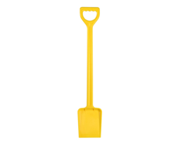 Schep 71 cm. geel