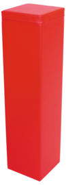 Foam balk  groot 120x30x30cm - Rood