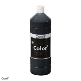 Creall-color schoolverf 1000cc zwart