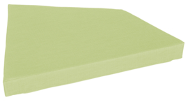 Quadro 2 matras licht groen, hoogte 10 cm