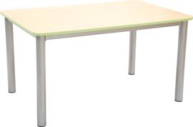 Premium rechthoekige tafelblad - groen