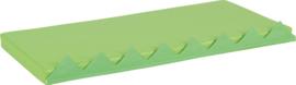 Matras voor activiteiten wand - groen 1 stuk