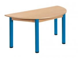 Halfronde tafel