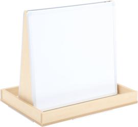 Dubbelzijdig bord voor Flexi kasten voor plastic bakken