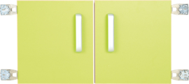 Deur voor niveau verhoger S (092817) - lime