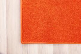 Eenkleurig tapijt - terracotta 3 x 4 m