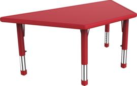 Dumi trapezium tafel - rood