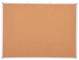 Kurkbord in aluminium frame 90 x 120 cm