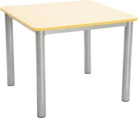 Premium vierkant tafelblad - geel