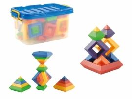 Pyramide bouwstenen
