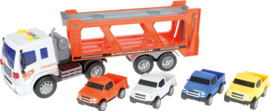 Transporter met auto's