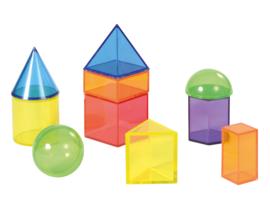 Geometrische vormen  transparant