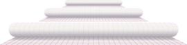Kaftplastic Boeklon 24cmx25m zelfklevend transparant