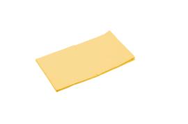 Laken voor stretcher  geel afm. 146 x 65 cm