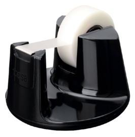 Plakbandhouder Tesa Compact zwart met 1rol tape