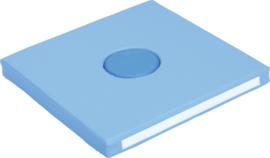 Foam Vierkant sensorisch 60x60x10cm - Blauw