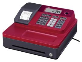 Kassa Casio SE-S100-RD rood