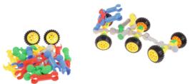 Bouwblokken - clips met wielen