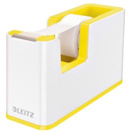 Plakbandhouder Leitz WOW wit/geel