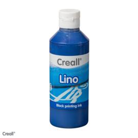 Creall lino/blockprint verf donkerblauw