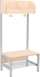 Flexi garderobe 2, zithoogte 35 cm - esdoorn