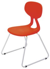 Livia Plus stoel maat 5 of 6, rood