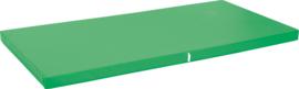 Anti slip matras Afm. 183 x 90 x 8 cm groen
