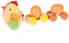 Trekdier- Kip met eieren