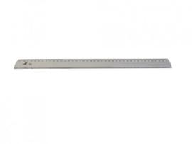 Liniaal kunststof 40 cm.