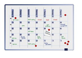 ACCENTS Linear planner - Cool multiplanner 60 x 90 cm