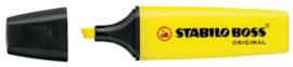 Markeerstift STABILO Boss Original 70/24 geel