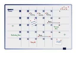 ACCENTS Linear planner - Cool maandplanner 60 x 90 cm
