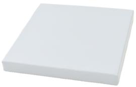 Vierkante matras - grijs