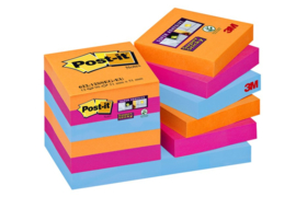 Memoblok 3M Post-it 622-SSEG Super Sticky 47.6x47.6mm Bangkok