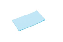 Elastisch laken blauw afm. 120 x 60 cm