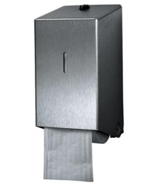 Dispenser Euro toiletpapier doprol RVS