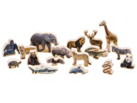 Wilde dieren foto realistisch