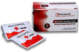Alcohol doekjes Renasan 70% alcohol 10.5x20cm