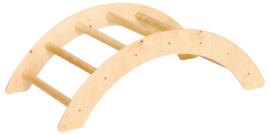 Kleine halfronde gym ladder