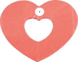 Papieren slinger - hart met een hart