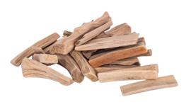 Knutselhoutjes assorti 250 gram drijfhout