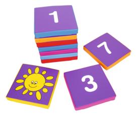 Cijfer vierkanten