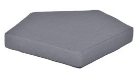 Quadro matras  donker grijs, hoogte 10 cm