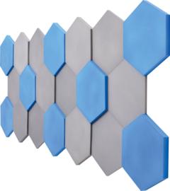 Geluiddempende zeshoeken set 2