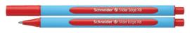 Balpen Schneider Slider Edge rood extra breed