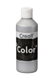 Creall-color schoolverf 500cc Zilver