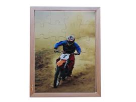 Puzzel foto motorcross