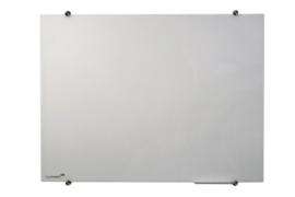Coloured glasbord 90 x 120 cm wit