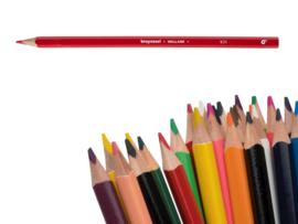 12 kleurpotloden Bruynzeel vermiljoen 931